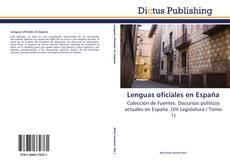 Buchcover von Lenguas oficiales en España