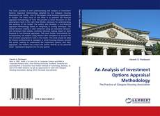 Bookcover of An Analysis of Investment Options Appraisal Methodology