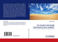 Bookcover of Are Saudis intrinsically motivated to learn English?