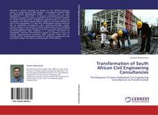 Bookcover of Transformation of South African Civil Engineering Consultancies