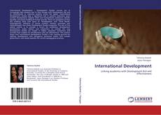 Bookcover of International Development