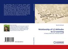 Bookcover of Relationship of L2 Attitudes to L3 Learning