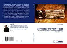 Couverture de Abstraction and its Processes