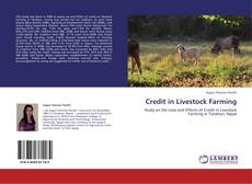 Capa do livro de Credit in Livestock Farming
