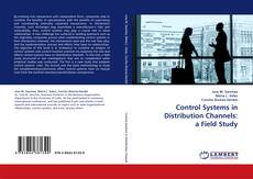 Обложка Control Systems in Distribution Channels: a Field Study