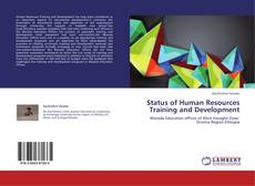 Bookcover of Status of Human Resources Training and Development
