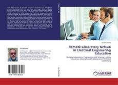 Remote Laboratory NetLab in Electrical Engineering Education kitap kapağı