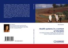 Bookcover of Health systems in a context of HIV/AIDS