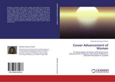 Bookcover of Career Advancement of Women
