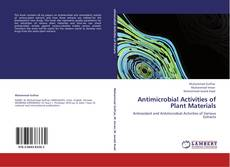 Capa do livro de Antimicrobial Activities of Plant Materials