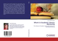 Couverture de What's in Academic Literacy Mentoring