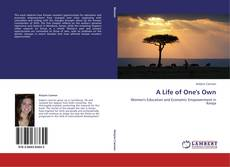 Bookcover of A Life of One's Own