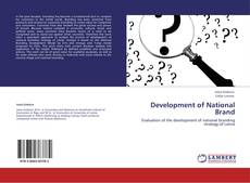 Buchcover von Development of National Brand