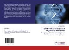 Buchcover von Functional Genetics and Psychiatric Disorders
