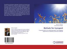 Bookcover of Biofuels for transport