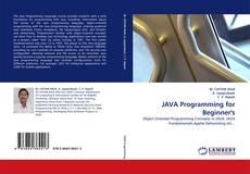 Capa do livro de JAVA Programming for Beginner's