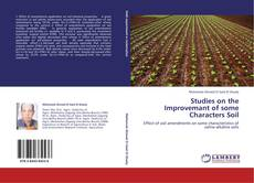 Couverture de Studies on the Improvemant of some Characters Soil