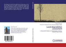 Bookcover of Land degradation assessment