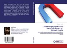 Bookcover of Oxide Magnetostrictive Materials Based on Cobalt Ferrite