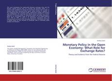 Portada del libro de Monetary Policy in the Open Economy: What Role for Exchange Rates?