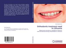 Обложка Orthodontic treatment need in Lithuania