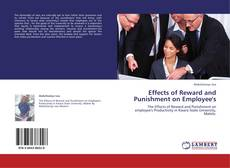 Bookcover of Effects of Reward and Punishment on Employee's
