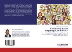 Capa do livro de Community Based Targeting; Can it Work?