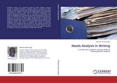 Copertina di Needs Analysis in Writing