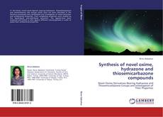 Portada del libro de Synthesis of novel oxime, hydrazone and thiosemicarbazone compounds