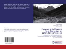 Bookcover of Environmental Impacts From Recreation on Colorado Fourteeneers