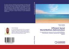 Efficient Social Work/Welfare Admistration kitap kapağı
