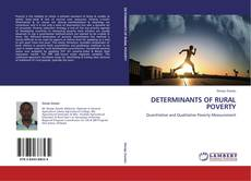 Bookcover of DETERMINANTS OF RURAL POVERTY