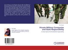 Bookcover of Private Military Companies and State Responsibility