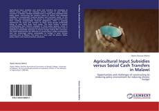 Bookcover of Agricultural Input Subsidies versus Social Cash Transfers in Malawi