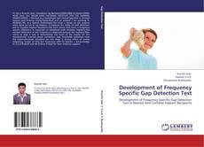 Couverture de Development of Frequency Specific Gap Detection Test