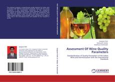 Capa do livro de Assessment Of Wine Quality Parameters