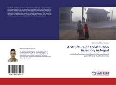 Bookcover of A Structure of Constitution Assembly in Nepal