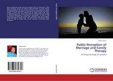 Couverture de Public Perception of Marriage and Family Therapy