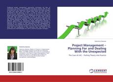 Capa do livro de Project Management – Planning For and Dealing With the Unexpected