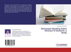 Bookcover of Newspaper Reading Habits Among P.G Students: a Study