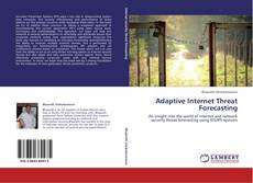 Capa do livro de Adaptive Internet Threat Forecasting