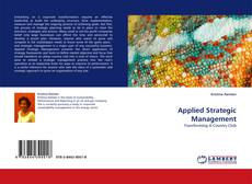 Bookcover of Applied Strategic Management