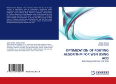 Portada del libro de OPTIMIZATION OF ROUTING ALGORITHM FOR WSN USING ACO
