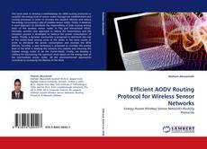 Capa do livro de Efficient AODV Routing Protocol for Wireless Sensor Networks