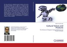 Обложка Cultural Values and Products