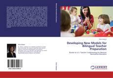 Portada del libro de Developing New Models for Bilingual Teacher Preparation