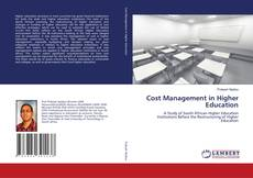 Bookcover of Cost Management in Higher Education