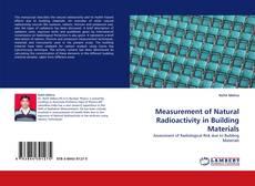 Buchcover von Measurement of Natural Radioactivity in Building Materials