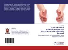 Portada del libro de Role of Public Administration and Microfinance in Reducing Poverty