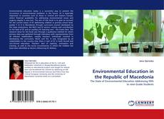 Buchcover von Environmental Education in the Republic of Macedonia